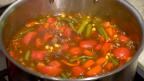 Venison Meatball Soup
